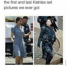 First and Last photo of Jennifer on set.