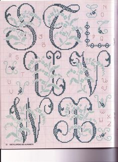Thrilling Designing Your Own Cross Stitch Embroidery Patterns Ideas. Exhilarating Designing Your Own Cross Stitch Embroidery Patterns Ideas. Cross Stitch Alphabet Patterns, Embroidery Alphabet, Cross Stitch Letters, Cross Stitch Boards, Cross Stitch Kits, Cross Stitch Designs, Embroidery Patterns, Stitch Patterns, Quilt Stitching