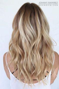 Cute Blonde Balayage Highlights