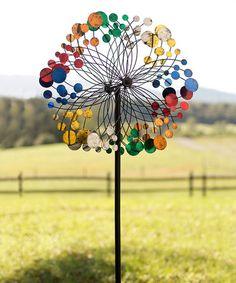 Look what I found on #zulily! Bubbles Wind Spinner Garden Stake #zulilyfinds