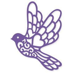 Welcome to the Silhouette Design Store, your source for craft machine cut files, fonts, SVGs, and other digital content for use with the Silhouette CAMEO® and other electronic cutting machines. Silhouette Design, Silhouette Cameo Projects, Bird Template, Flower Template, Bird Stencil, Stencil Painting, Cow Cartoon Images, Creation Art, Alcohol Ink Crafts