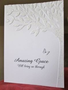 Amazing Grace (Would be a great sympathy card)