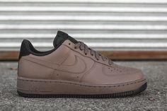 "Nike Air Force 1 '07 Low ""Dark Mushroom & Black"" - EU Kicks Sneaker Magazine"