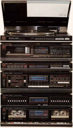 Sony Speakers, In Wall Speakers, Hi Fi System, Audio System, Som Retro, Radios, Home Theater Sound System, Italo Disco, Electronic