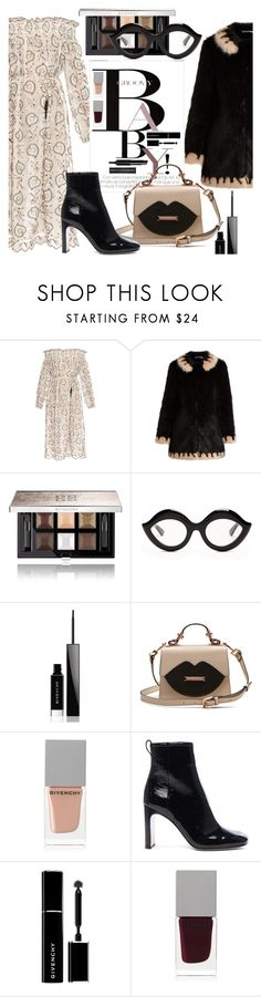"""""""2017 off shoulder dress"""" by vaughnroyal ❤ liked on Polyvore featuring Zimmermann, Shrimps, Givenchy, November, Gucci and rag & bone"""