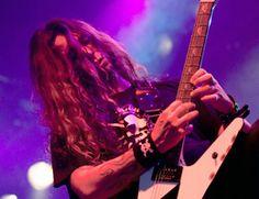 Gus G of Firewind/Ozzy Osbourne Gus G, Guitar Pickups, Seymour Duncan, Ozzy Osbourne, Breathe, Artists, Rock, Skirt, Locks