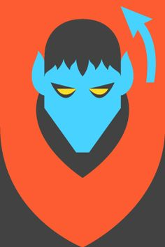 Form & Co - Re-Vision - Pop Culture Icons Nightcrawler