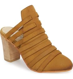e4284d2ce2 Byron Mule High Heels Taupe   The Ruffled Nest Soft Leather, Leather Shoes,  Nest