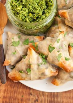 Recipe: Crispy Baked Samosas with Potatoes and Peas