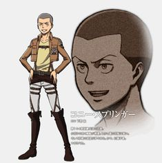 Full Look at Attack on Titan Anime Character Designs