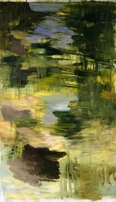 Untitled, oil on canvas, 200 x 110 cm, Bjørnar Aaslund, 2018