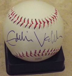 This is for a Eddie Vedder from the band PEARL JAM signed RAWLINGS baseball signed with a ball point ink pen RARE hard to find. 1000% AUTHENTIC GUARANTEED