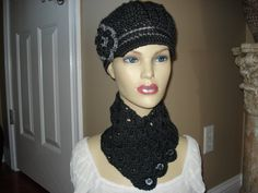 Your place to buy and sell all things handmade Crochet Newsboy Hat, Mannequin Heads, Grey Trim, News Boy Hat, Cloche Hat, Charcoal, Cute Outfits, Classy, Hats