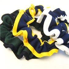 Braid Cheerleading Hair Scrunchies #1731