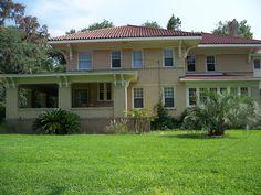 Crescent City Historic District in Putnam County, Florida.
