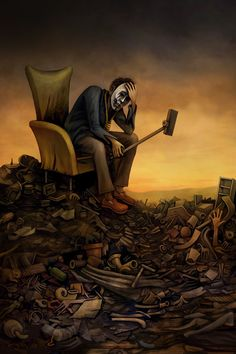 The Post Apocalyptic Selfie made by David Whitlam