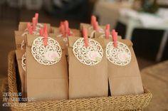 DIY Stampin' Up! Kiddie Wedding Busy Bags