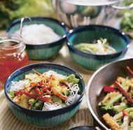 Master Recipe for Cool Noodle Salads- Vermicelli Salad yum!