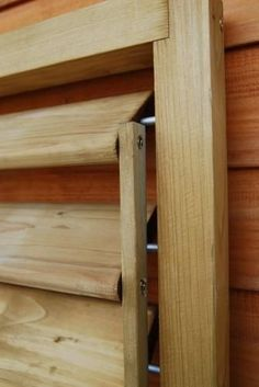 Shutter Panel Fences panels Catalog Backyard Home - Home Decor Diy Shutters, Wood Projects, Woodworking Projects, Wood Blinds, Building A Shed, Building Plans, Diy Holz, Fence Panels