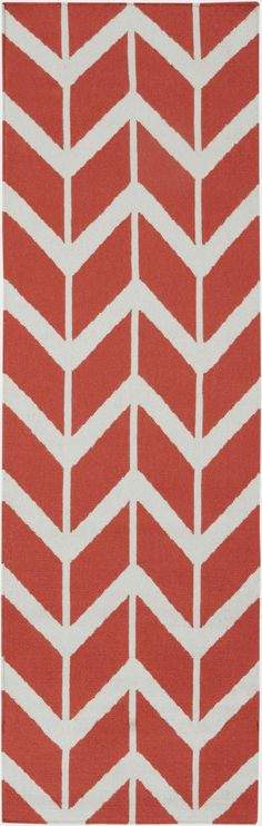 Surya FAL1054 Fallon Pink, Orange Runner Area Rug