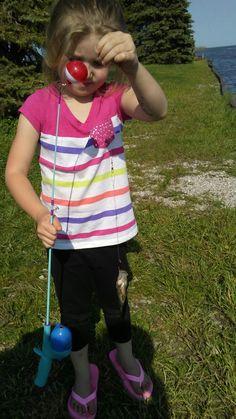 Her baby fish lol