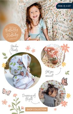 Butterfly Baby | Sun Hat | Blanket | Butterfly + Flutterby Collection | Baby Girl Nursery Butterfly Baby Room, Bright Decor, Baby Sun Hat, Cart Cover, Swaddle Blanket, Baby Cribs, Baby Feeding, Baby Products, Girl Nursery