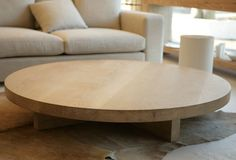 Mark Tuckey american oak coffee table