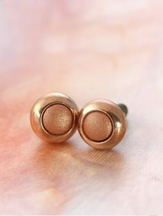 Luxe Copper Studs by Cloud Nine Creative  www.cloudninecreative.co.nz