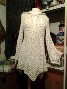 Crochet Pattern for Glenda's Hooded Gypsy by GlendatheGoodStitch