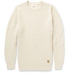 PRODUCT - NN.07 - Milton Waffle Knit Cotton Sweater - 393682|MR PORTER
