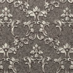 Luxury wallpapers will be an excellent solution to give the interior of your home a truly unique and different design. Status Wallpaper, Wallpaper Direct, Vinyl Wallpaper, Wallpaper Online, Luxury Wallpaper, Designer Wallpaper, Wall Patterns, Baroque, Interior Decorating