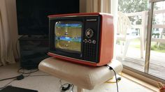 I turned an old portable TV into a dedicated retro gaming system!