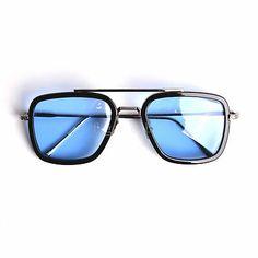 Package includes: One pair of sunglasses, . Men Sunglasses Fashion, Cheap Sunglasses, Mirrored Sunglasses, Cool Glasses, Mens Glasses, Square Sunglasses Mens, Tony Stark Sunglasses, Baskets, Men Eyeglasses