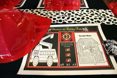 Firefighter Birthday Party Ideas   Photo 14 of 28   Catch My Party