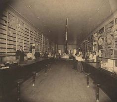 Interior of Frank Riley's store in Evergreen, Alabama. :: Alabama Photographs and Pictures Collection