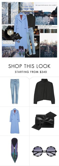 """""The advantage of a bad memory is that one enjoys several times the same good things for the first time.""  ― Friedrich Nietzsche"" by azomyr20 ❤ liked on Polyvore featuring AG Adriano Goldschmied, Marni, Brownstone, Nina Ricci and Victoria Beckham"
