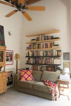 Johanna & Derek's Airy Live/Work Studio House Tour | Apartment Therapy