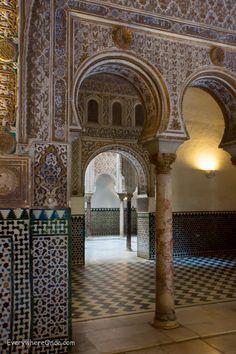 Seville Alcazar Hall of Ambasadors Alcazar Seville, Islamic Architecture, Royal Palace, Granada, Islamic Art, Us Travel, Mj, Taj Mahal, January