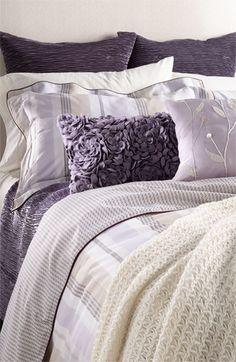 Nordstrom 'Crackle' & 'Austin' Bedding Set available at Lavender Room, Lavender Cottage, Lavender Bedrooms, Lavender Colour, Lavender Bedding, Home Bedroom, Master Bedroom, Bedroom Decor, Bedroom Ideas