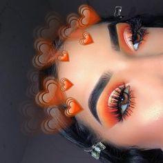 Makeup Tips Hacks per Eyeshadow Looks Horrible On Me time Natural Eyeshadow Look. - Makeup Tips Hacks per Eyeshadow Looks Horrible On Me time Natural Eyeshadow Look. Orange Makeup, Colorful Eye Makeup, Eye Makeup Art, Cute Makeup, Gorgeous Makeup, Glam Makeup, Skin Makeup, Eyeshadow Makeup, Makeup Inspo