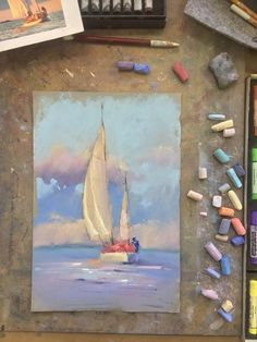 Soft pastel painting techniques for beginners. Chalk Pastel Art, Soft Pastel Art, Pastel Artwork, Oil Pastel Paintings, Oil Pastel Drawings, Chalk Pastels, Chalk Art, Art Drawings, Soft Pastels