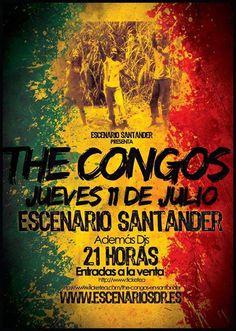 11 DE JULIO THE CONGOS EN SANTANDER.