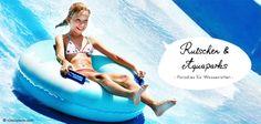 Spaß und Action für Wasserratten! Wo Kinder zu Abenteurern und Erwachsene wieder zu Kindern werden. Hier geht's zum neuen Themen-Special: http://de.justaway.com/reise-urlaub-special/rutschen-aquaparks/