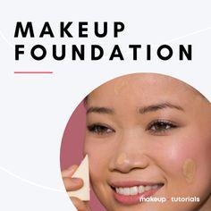 Foundation For Oily Skin, How To Apply Foundation, Makeup Tutorial Foundation, No Foundation Makeup, Perfect Makeup, Gorgeous Makeup, Best Mac Lipstick, Dance Makeup, Everyday Makeup Tutorials