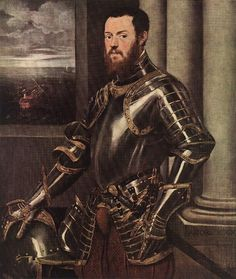 Man in Armour : TINTORETTO : Art Images : Imagiva