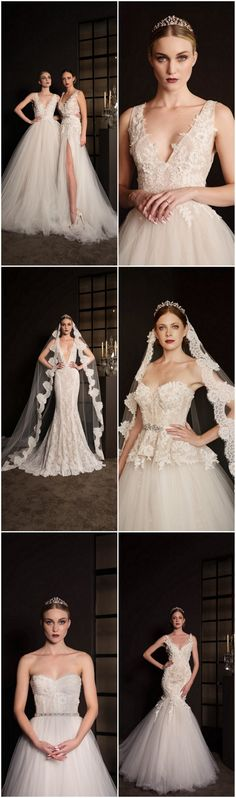 The ravishing, regal and sophisticated 2016 wedding dress collection from Anna Georgina whispers of a glamorous love affair . Click to see Anna Georgina's 2016 Collection - South African Wedding Dresses