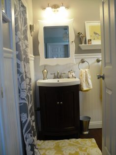 black and white bathroom accent color yellow amp gray bathroom inspiration yellow amp gray 25098