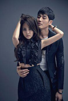 Dara + Kim Young   Esquire Korea