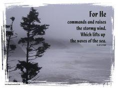 Psalm 107:25