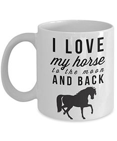 I Love My Horse-Horse Gifts For Women-Horse Gifts For Horse Lovers-Horse Rider Gifts-Horse Related Gifts-Horse Gifts For Teens-Horse Themed Gifts- Horse ...